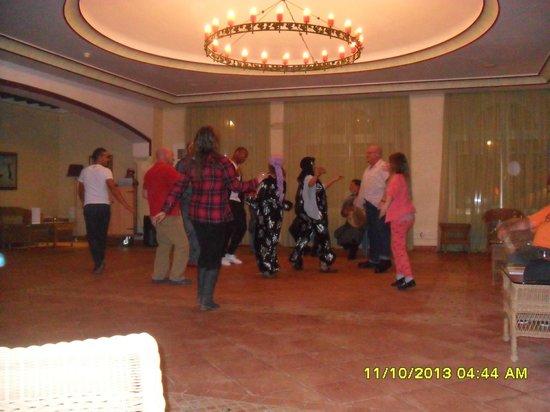 Medina Belisaire & Thalasso: Dance Area