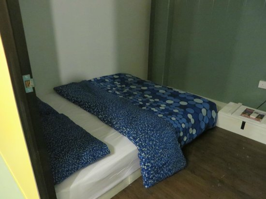 Queen's Hostel : Private room on the ground floor