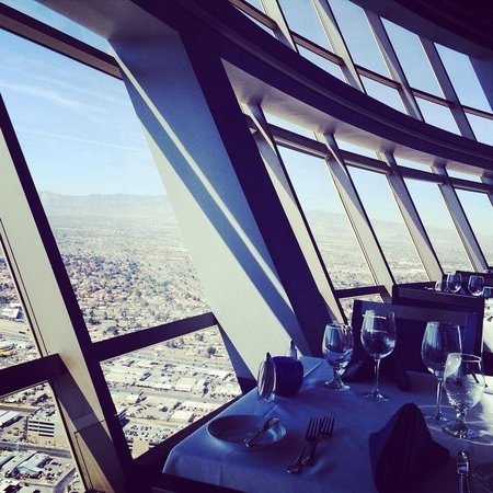 Top of the World Restaurant at the Stratosphere: View
