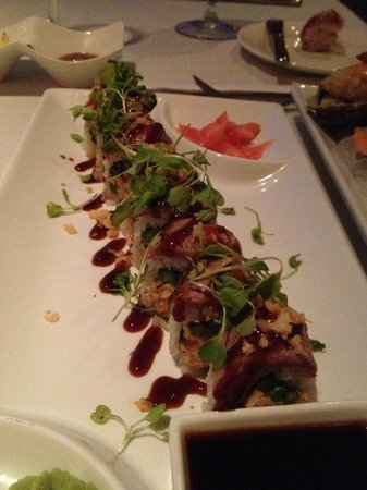 Caretta on the Gulf: Surf and Turf sushi