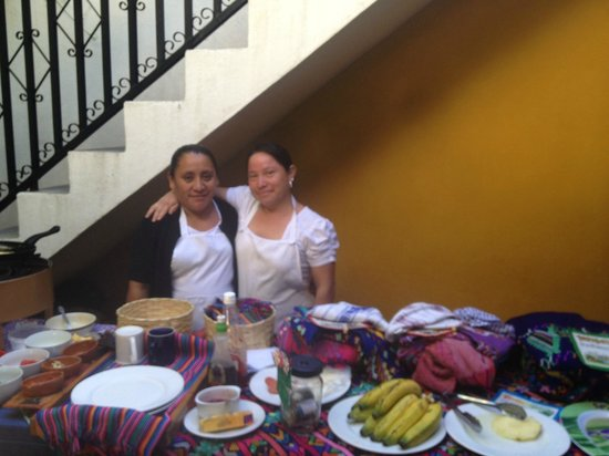 The Yellow House: the lovely ladies who served breakfast