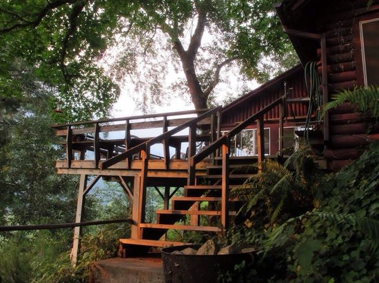ROW Adventures - Rogue River Rafting: One of the lodges
