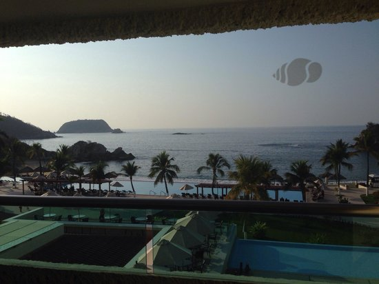 Dreams Huatulco Resort & Spa: View from room 3442