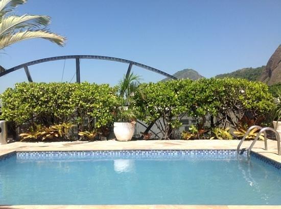Augusto's Rio Copa Hotel: крыша отеля
