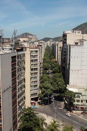 Augusto's Rio Copa Hotel: вид с крыши