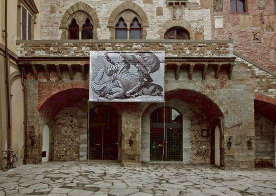 Prato. praetorian palace. 150m from hotel giardino picture of