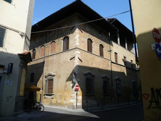 Prato palace of medieval merchant datini m from hotel