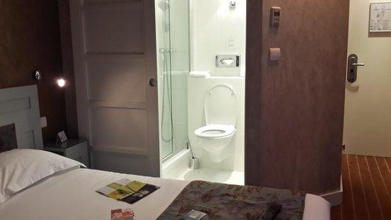 Hotel Eiffel Seine : the single room