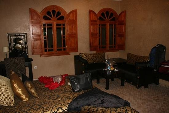 Riad Andalib: room at the riad