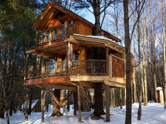 Moose Meadow Lodge: Treehouse
