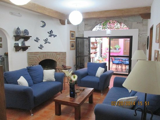 Villa Sueno Azul: The living room
