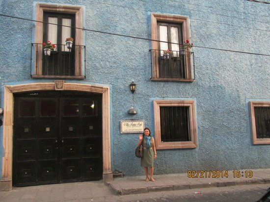 Villa Sueno Azul: The hotel main entrance