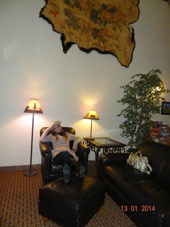 Holiday Inn Express & Suites Mt Rushmore / Keystone : No lobby