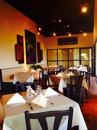 La Brochette: Guests will enjoy the recently decorated and remodeled restaurant.