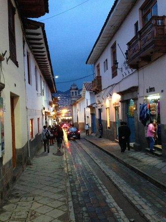 Casa San Blas Boutique : Outside of hotel