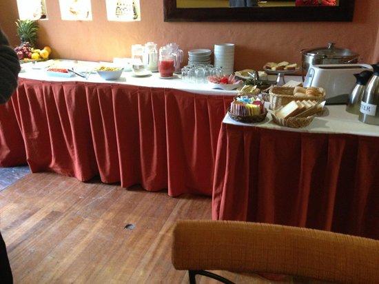 Casa San Blas Boutique : Breakfast area