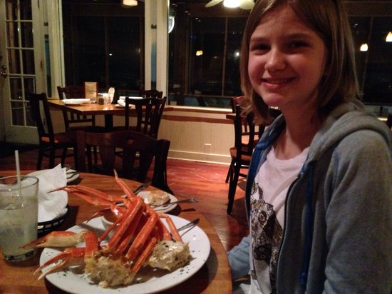 Crab legs plate before getting devoured picture of hot for Hot fish club murrells inlet south carolina