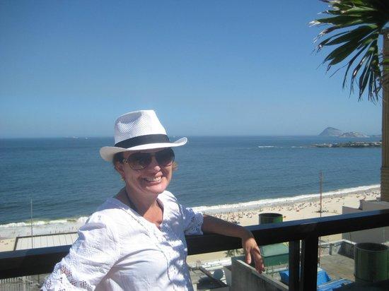 Oceano Copacabana Hotel: vista da piscina
