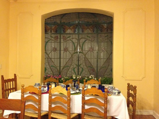 Hotel Casa Gonzalez: eetkamer