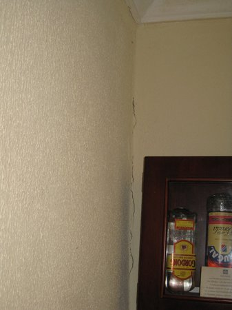 Hotel Riu Palace Punta Cana : cracked wall