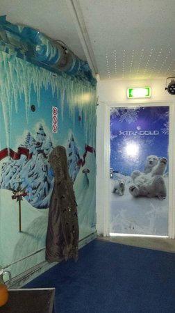 Xtracold Icebar Amsterdam: Saída do bar