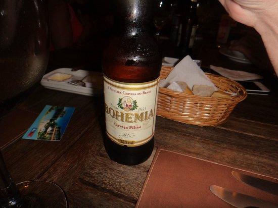 Bon Bini Pousada: cerveza bien gelada!