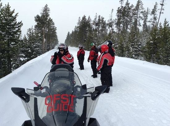 Old Faithful Snowmobile Tours - Day Tours: Beautiful Day