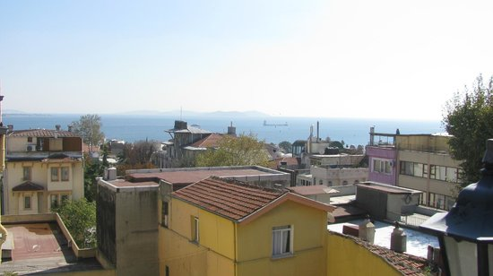 Sah Otel Apartment: terrace view 5