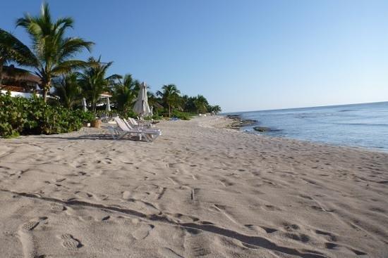Las Villas Akumal: playa del hotel