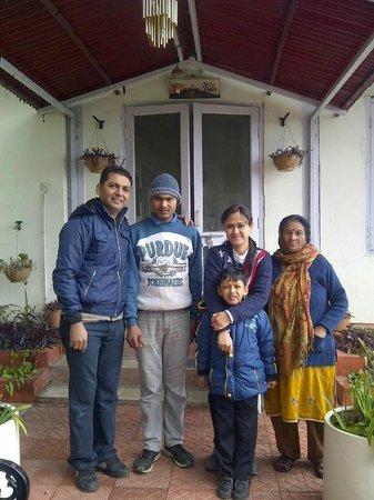 Marley Villa: Raju and Aunty ( The caretaker )