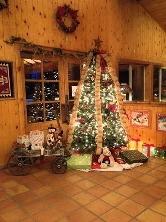 Red Cliffs Lodge: christmas 2013- lobby