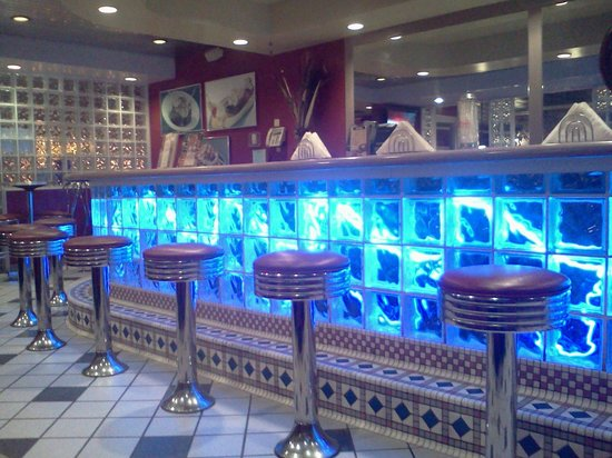 soda fountain stools cool 50s style soda fountain picture of delta cafe shawnee