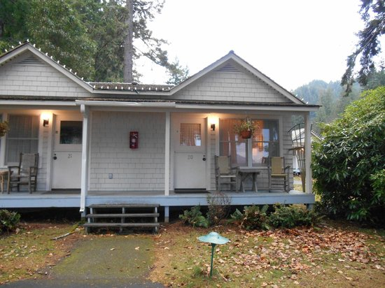 Lake Crescent Lodge: Single queen cottage