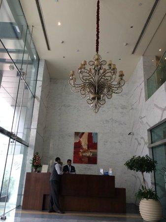 Samaya Hotel - Deira : на входе...