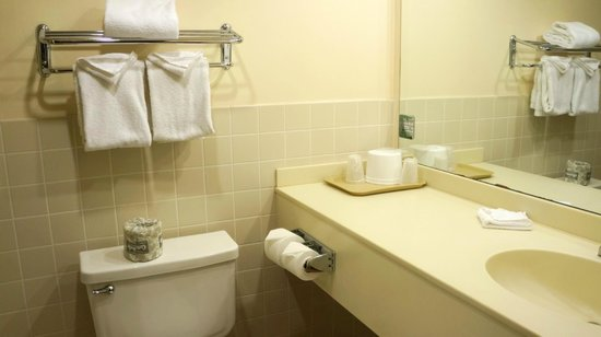 Island Inn Hotel: Bathroom