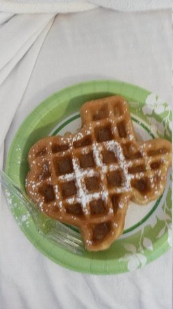 Best Western Plus North Odessa Inn & Suites: our Texas waffle