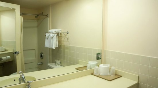 Island Inn Hotel: Standard Bathroom