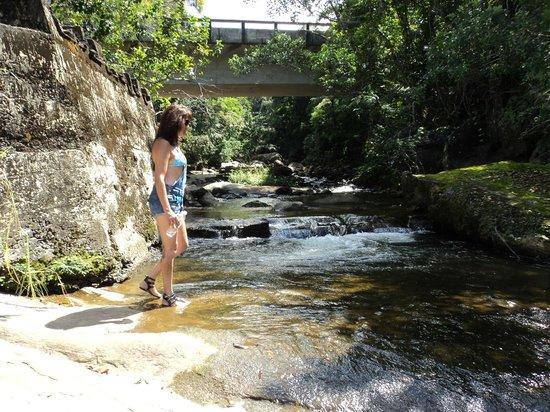 Prumirim  Waterfall: Chegada a Cachoeira