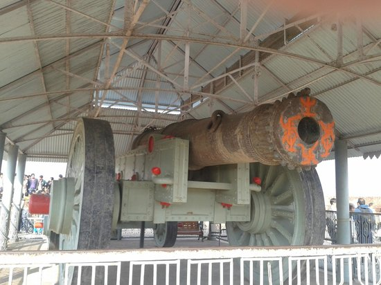 Jaigarh Fort : world's largest cannon