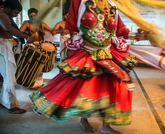 The Pamba Heritage Villa : Cultural performance