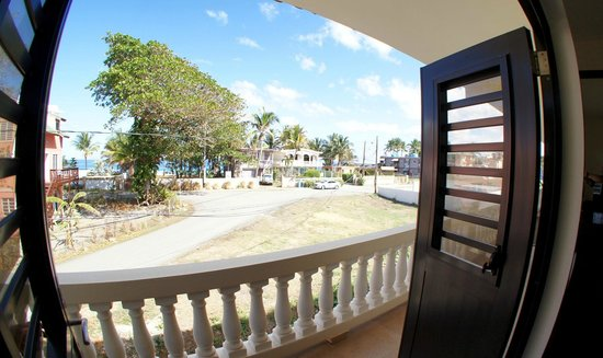 Punta Taino Guest House: View from the Balcony
