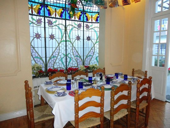 Hotel Casa Gonzalez : Un lugar encantador para desayunar