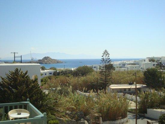 Pelican Bay Art Hotel: vista desde la habitacion en balconcito