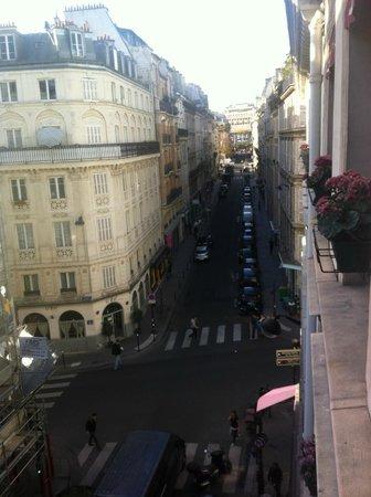 Fiat Hotel : Вид из нашего номера