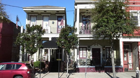 Historic Streetcar Inn: petit hôtel sympatique