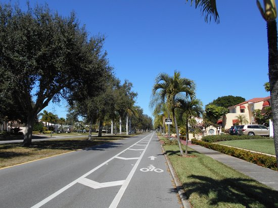 Venice Beach Villas: Venice is a bike-friendly community