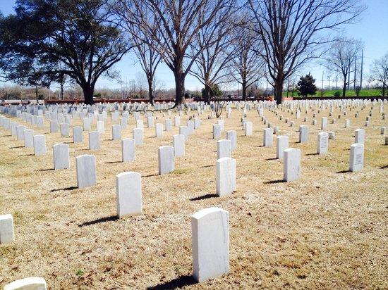 Port Hudson National Cemetery: Port Hudson National Cemetary, Louisiana