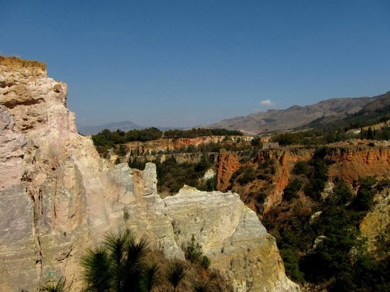 Luliang Colored Sand Forest : Mountain views