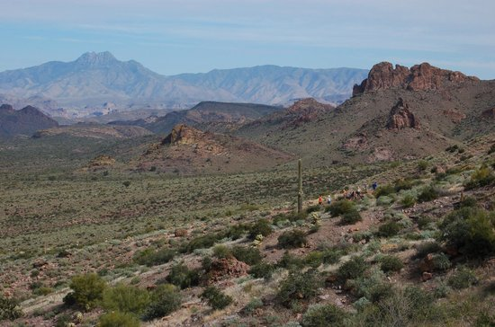 Lost Dutchman State Park: View from top of Treasure Loop Trail
