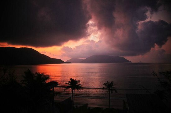 Six Senses Con Dao : Sonnenaufgang im Six Sences